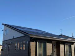 太陽光発電工事完了