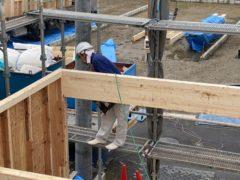 岩倉市で建て方