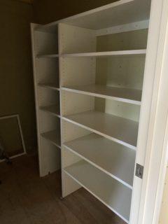 棚の施工しました。