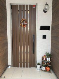 我が家の玄関